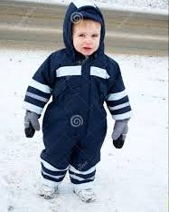 Snow suit boy