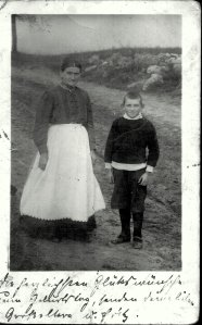 Great Grandmother and Fritze