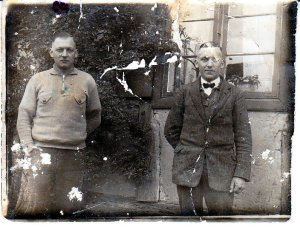 My father, Erich (left) with his younger brother Curt