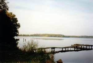 A view over the Stresow Lake where I almost drowned
