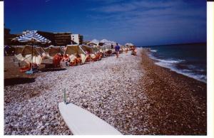 Pebbly beach