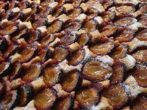 My specialty: Plum Cake