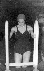 Ingrid the swimmer