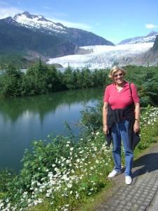 Mendenhall Glacier Alasca